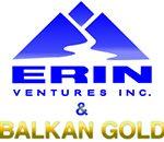 Logo Erin Ventures & Balkan Gold